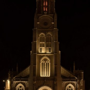 olv kerk by night st struiden*